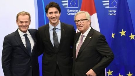 Nong dan vung Wallonia thoa thuan, EU va Canada ky Ceta - Anh 1