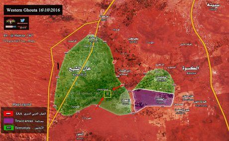 Quan doi Syria bao vay phong toa thi tran then chot Tay Ghouta - Anh 2