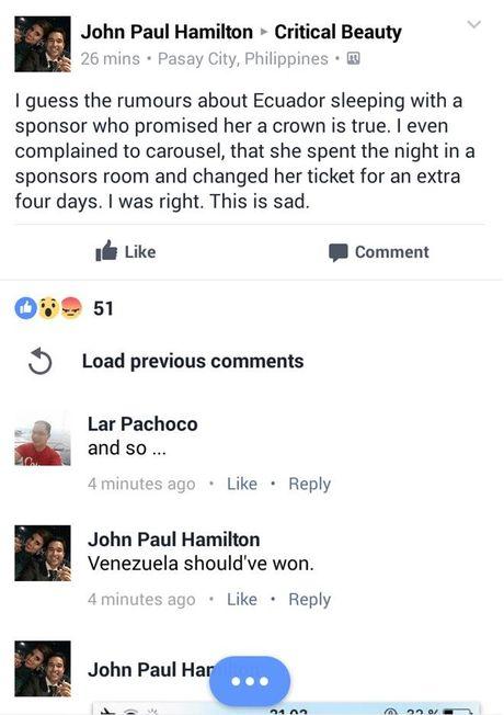 Nguoi dep Ecuador bi to ngu voi nha tai tro de gianh giai Hoa hau tai Miss Earth - Anh 3