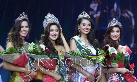 Nguoi dep Ecuador bi to ngu voi nha tai tro de gianh giai Hoa hau tai Miss Earth - Anh 5