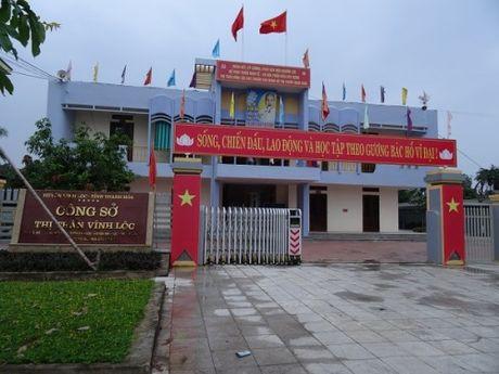 Thi tran Vinh Loc, Thanh Hoa: Huong toi xay dung do thi van minh - Anh 1
