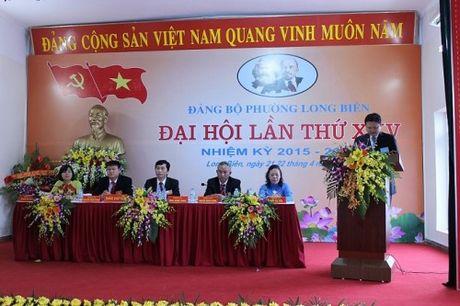 Dang uy Phuong Long Bien: Tap trung thuc hien to chuc xay dung Dang - Anh 1