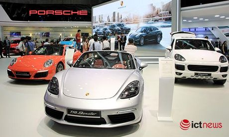 Chiem nguong ve dep Porsche 718 Boxster tai Viet Nam - Anh 1