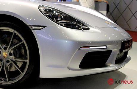 Chiem nguong ve dep Porsche 718 Boxster tai Viet Nam - Anh 5