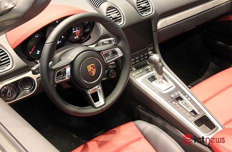Chiem nguong ve dep Porsche 718 Boxster tai Viet Nam - Anh 9