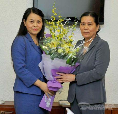 Trao quyet dinh nghi huu cho nguyen Chu tich Hoi LHPN Viet Nam - Anh 10