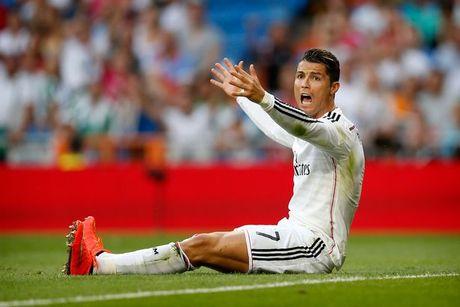 'Ronaldo da gian du truoc khi lap hat-trick' - Anh 1