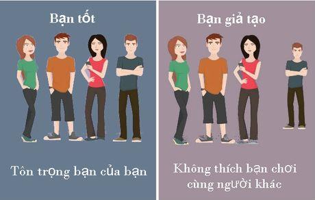 10 cach phan biet giua ban tot va nguoi gia tao - Anh 9