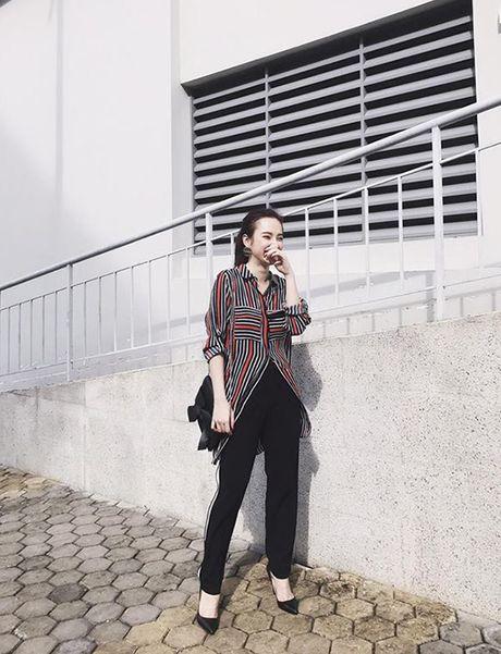 Street style cua sao Viet tuan qua - Anh 10