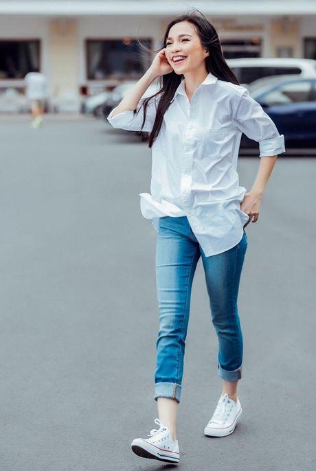 Street style cua sao Viet tuan qua - Anh 2