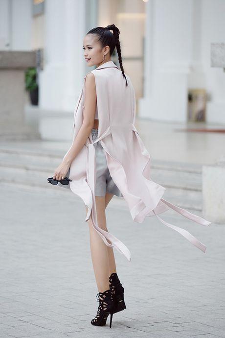 Street style cua sao Viet tuan qua - Anh 7