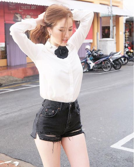 Street style cua sao Viet tuan qua - Anh 8