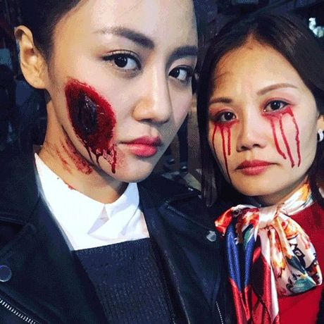Tu y nghia Halloween den sao Viet 'bien' thanh ma quy rung ron - Anh 2
