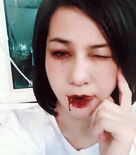 Phat hoang khi MC Ky Duyen, BTV Quang Minh hoa trang Halloween - Anh 10