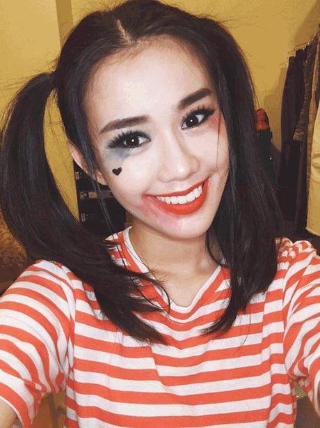 Phat hoang khi MC Ky Duyen, BTV Quang Minh hoa trang Halloween - Anh 13