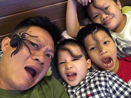 Phat hoang khi MC Ky Duyen, BTV Quang Minh hoa trang Halloween - Anh 5