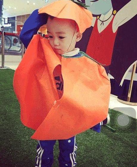 Phat hoang khi MC Ky Duyen, BTV Quang Minh hoa trang Halloween - Anh 8
