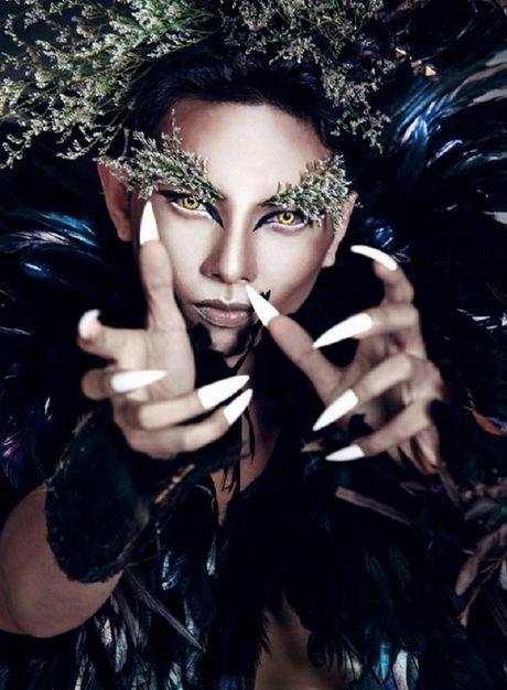 Chet khiep sao Viet bien hinh trong Halloween - Anh 6
