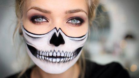 10 kieu trang diem 'cuc chat' cho dem Halloween - Anh 1