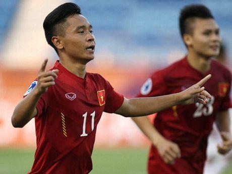 Minh Di duoc 'bao mong' ban thang lich su cho U19 Viet Nam - Anh 1