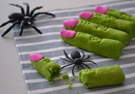 Mon an 'hoa trang' son da ga vao ngay Halloween nhung kho the bo qua - Anh 2
