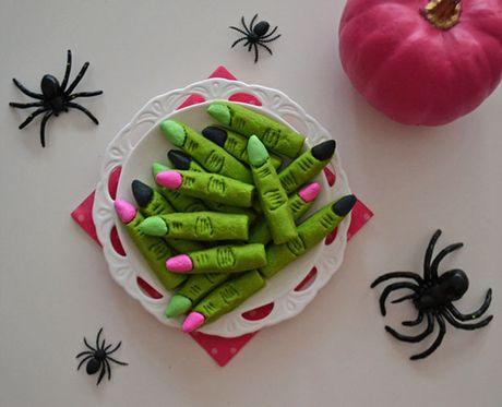 Mon an 'hoa trang' son da ga vao ngay Halloween nhung kho the bo qua - Anh 3