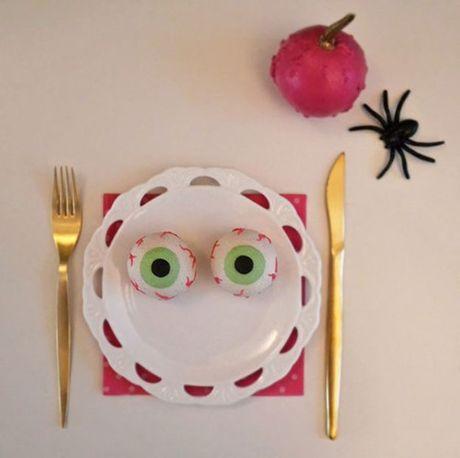 Mon an 'hoa trang' son da ga vao ngay Halloween nhung kho the bo qua - Anh 8