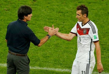 Miroslav Klose se sat canh cung tuyen Duc doi dau Italy - Anh 1