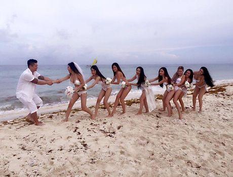 My nhan Viet cuc 'bao gan' voi anh cuoi bikini - Anh 17