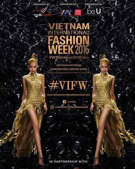Mau 154cm mo man san dien Vietnam International Fashion - Anh 6