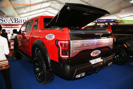 Ford F150 Platinum gia 4 ty, do 'khung' o Sai Gon - Anh 9