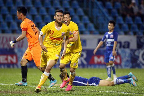 Ha Noi T&T gap S.Khanh Hoa o chung ket Giai bong da U21 toan quoc - Anh 1