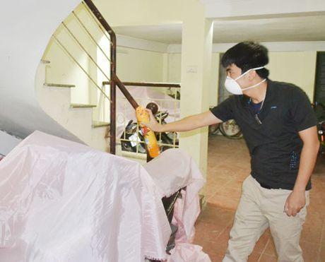Ha Noi: bat muoi xet nghiem tim ca the muoi nhiem vi rut Zika - Anh 1