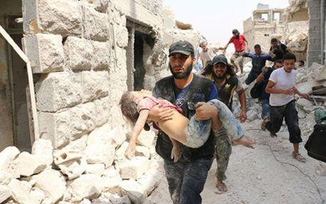 Syria: Cac nhom khung bo tan cong o Aleppo, 84 nguoi thiet mang - Anh 1