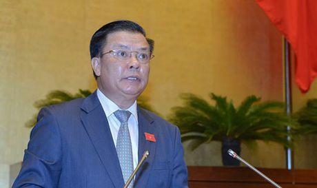 Bo truong Bo Tai chinh 'tran tinh' ve no cong - Anh 1
