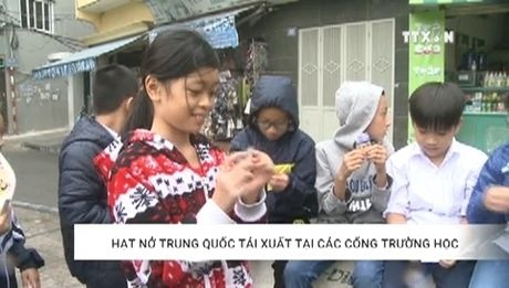 Canh giac voi hat nhua no Trung Quoc tai cong truong hoc - Anh 1