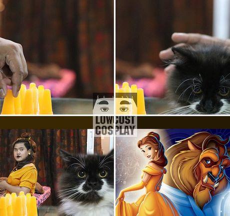 Loat anh hoa trang Halloween thong minh, 'lay loi' nhu chang beo Thai Lan - Anh 1