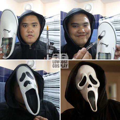 Loat anh hoa trang Halloween thong minh, 'lay loi' nhu chang beo Thai Lan - Anh 2