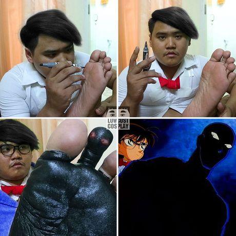 Loat anh hoa trang Halloween thong minh, 'lay loi' nhu chang beo Thai Lan - Anh 3