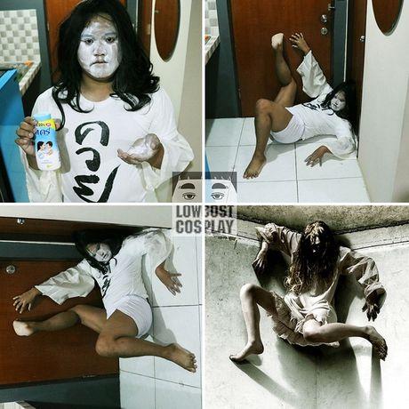 Loat anh hoa trang Halloween thong minh, 'lay loi' nhu chang beo Thai Lan - Anh 7