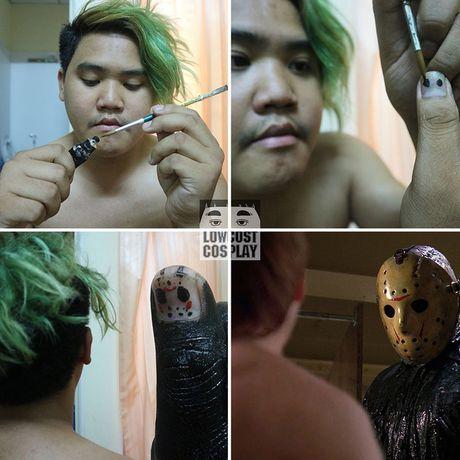 Loat anh hoa trang Halloween thong minh, 'lay loi' nhu chang beo Thai Lan - Anh 8