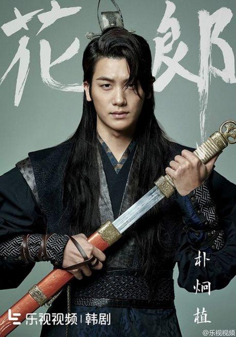 Poster toan trai dep cua 'Hwarang' - drama than tuong co trang - Anh 3