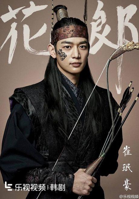 Poster toan trai dep cua 'Hwarang' - drama than tuong co trang - Anh 6