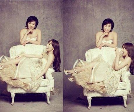 Tae Yeon thua huong net dep thanh tu cua me - Anh 2
