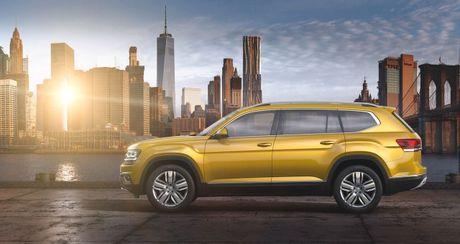 Atlas - 'Sat thu' SUV tam trung cua Volkswagen - Anh 1