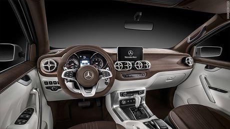 Lo dien mau xe ban tai dau tien cua Mercedes-Benz - Anh 2