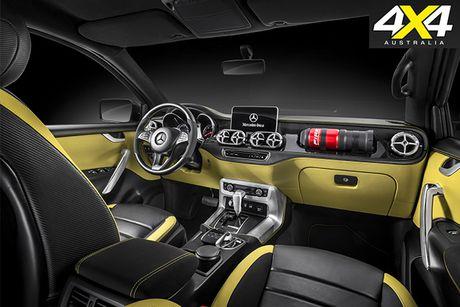 Lo dien mau xe ban tai dau tien cua Mercedes-Benz - Anh 4