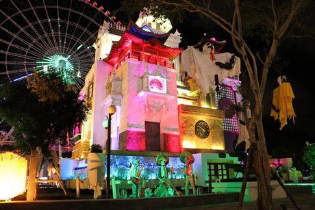 Kham pha 'Cong vien huyen bi' Asia Park mua Halloween - Anh 2