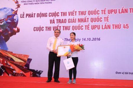 UPU cong bo chu de cuoc thi viet thu lan thu 46 nam 2017 - Anh 2