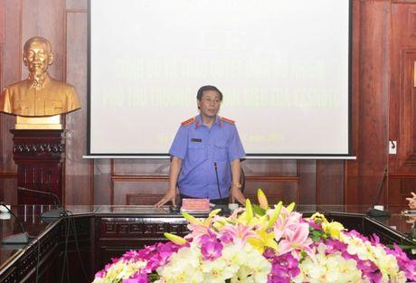 Bo nhiem Pho Thu truong Co quan dieu tra VKSNDTC - Anh 2
